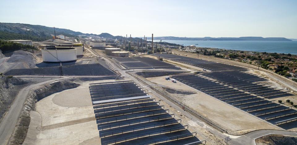 Centrale photovoltaïque - Plateforme de La Mède